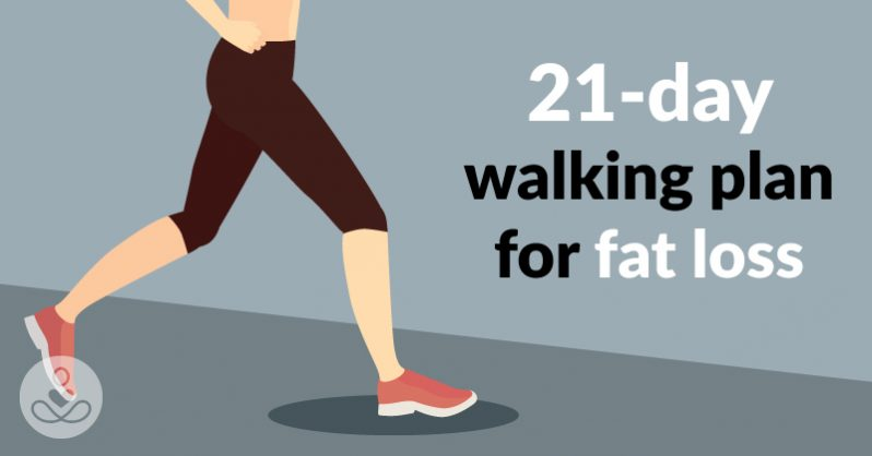 A 21-Day Walking Plan for Fat Loss - The Healthy Lifestyle